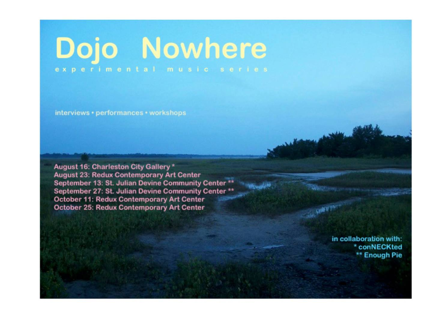DOJO NOWHERE curated by Nic Jenkins